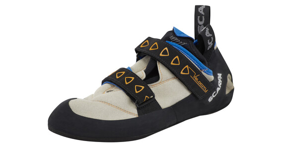 Scarpa Velocity Climbing Shoes Men lightgray/royal blue